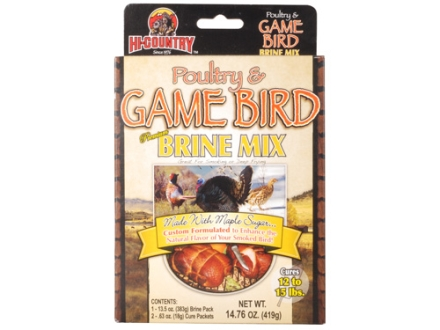 Hi-Country Poultry & Game Bird Brine Mix 11 oz