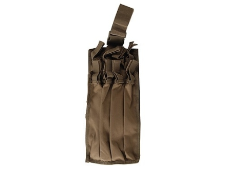 California Competition Works 8 Tube Holster for Tec Loader Shotgun Speedloader Nylon Coyote Brown