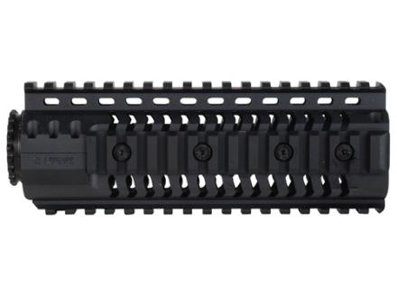 SI Defense 2-Piece Customizable Quad Rail Free Float Handguard LR-308 Carbine Length Matte