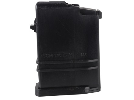 SGM Tactical Magazine Saiga 308 Winchester 10-Round Polymer Black