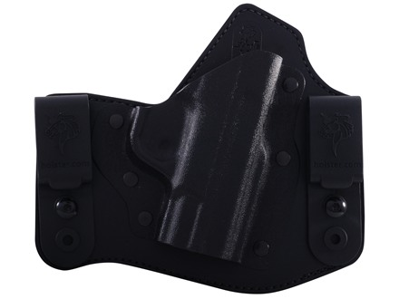 DeSantis Intruder Inside the Waistband Holster Right Hand Smith & Wesson M&P Shield Kydex and Leather Black