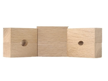 Wheeler Engineering Wood Bushings for the Wheeler Engineering Barrel Vise Package of 3