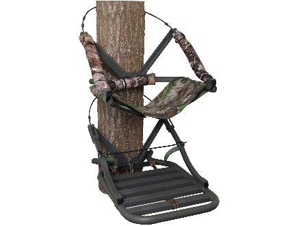 Summit Specialist Open Front Climbing Treestand Aluminum Realtree AP Camo