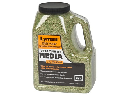 Lyman Turbo Brass Cleaning Media Treated Corn Cob Box