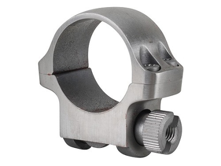 "Ruger 1"" Ring Mount 3K Silver Low"