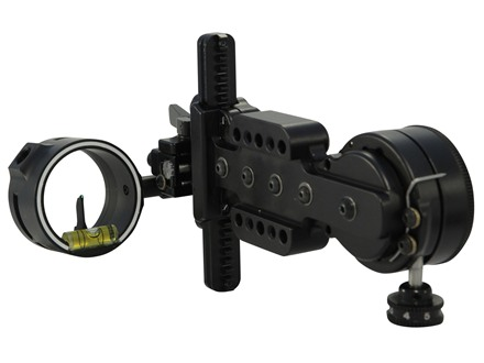 "Spot-Hogg Wrapped Boss Hogg 1-Pin Bow Sight .019"" Pin Diameter Small Guard Right Hand Aluminum Black"
