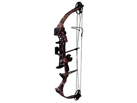 "Parker SideKick XP Compound Bow Package Right Hand 30-50 lb 18""-28"" Draw Length Pink Next G1 Camo"