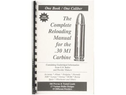 "Loadbooks USA ""30 Carbine"" Reloading Manual"