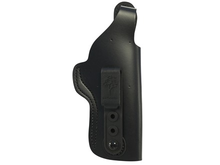 DeSantis Dual Carry II Inside/Outside the Waistband Holster Right Hand 1911 Government Leather Black