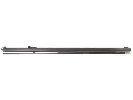 "Green Mountain Thompson Center Hawken Muzzleloader Interchangeable Barrel System 58 Caliber 1"" Octagon 1 in 70"" Twist 32"" Percussion 1137 Steel Blue"