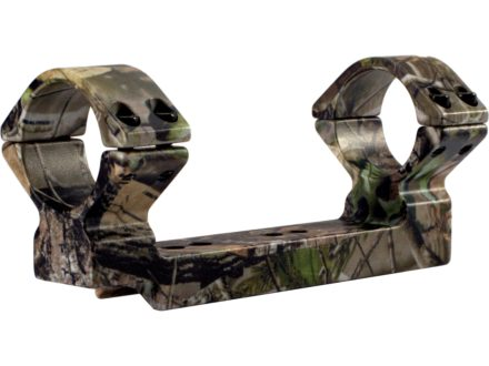 "Talley Lightweight 1-Piece Scope Mounts with Integral 1"" Rings Thompson Center Encore, Omega, Triumph Camo Low"