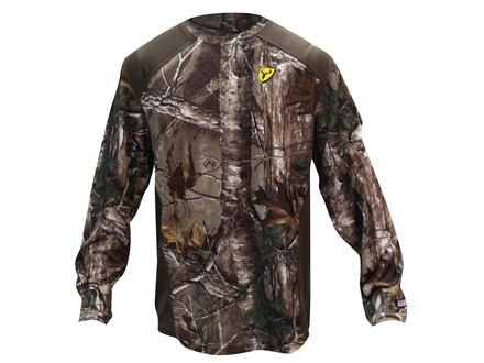 ScentBlocker Men's Midweight Crew Base Layer Shirt