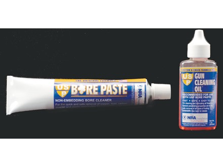 USP Bore Cleaning and Polishing Compound Paste 2 oz Tube with Gun Oil 1 oz Liquid Bottle