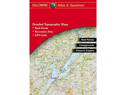 Delorme Atlas and Gazetteer