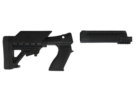 Archangel 870 Tactical Shotgun Stock System Remington 870 - Black Polymer