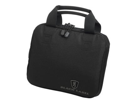 "Browning Black Label Alfa Pistol Case 11"" x 9"" Polyester Black"