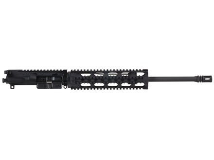 "DPMS AR-15 Enhanced Oracle A3 Flat-Top Upper Assembly 5.56x45mm NATO 1 in 9"" Twist 16"" Light Contour Barrel Chrome Moly Matte with YHM Lightweight Specter Free Float Quad Rail Handguard, Flash Hider"