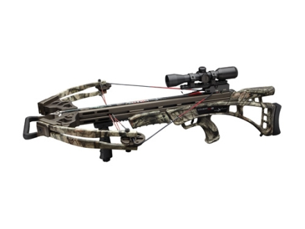 Carbon Express Covert CX2 Crossbow Package with Illuminated 4x32 Multi-Reticle Scope Mossy Oak Break-Up Infinity Camo