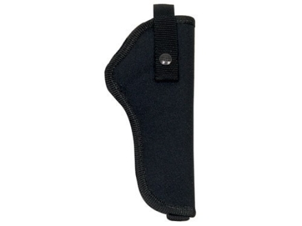 Hunter 1210 Ruffstuff Holster Right Hand 1911 Government, Browning Hi-Power Walther P38 Nylon Black