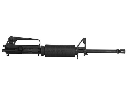 "Olympic Arms AR-15 A2 Upper Assembly 5.45x39mm 1 in 8"" Twist 16"" Barrel Stainless Steel Black with M4 Handguard, Flash Hider, 30-Round Magazine"