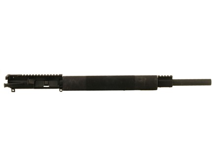 "Olympic Arms AR-15 A3 Flat-Top Upper Assembly 223 Remington 1 in 10"" Twist 20"" Bull Barrel Stainless Steel Black with Free Float Handguard"