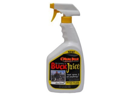 C'Mere Deer Buck Juice Ready-To-Use Sprayer Deer Attractant Liquid 1 Quart