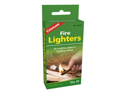 Coghlans Fire Lighters Pack of 20