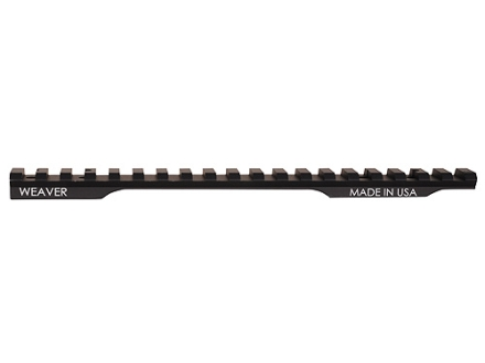 Weaver 1-Piece Extended Multi-Slot Tactical Picatinny-Style 20 MOA Base Savage 110 Through 116 Round Rear, Axis Long Action Matte