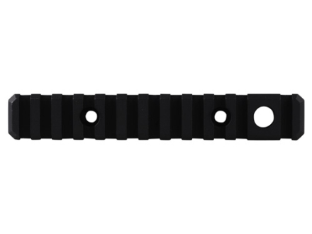 "Troy Industries 5.4"" Modular Rail Section with Quick Detach Swivel Socket for TRX Extreme, Alpha Rail Handguards AR-15 Aluminum Black"