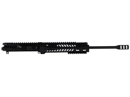 "Adams Arms AR-15 A3 Evo Ultra Lite Carbine Gas Piston Upper Assembly 5.56x45mm NATO 1 in 7"" Twist 16"" Barrel Melonite Finish with 10"" Extended Free Float Modular Rail Handguard, Muzzle Brake"