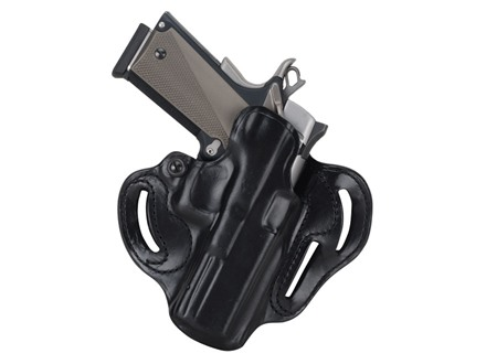 DeSantis Speed Scabbard Belt Holster Right Hand Glock 29. 30, 39 Leather Black