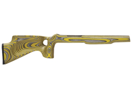 "Volquartsen Silhouette Thumbhole Rifle Stock Ruger 10/22 .920"" Barrel Channel Right Hand Laminated Wood Yellow"