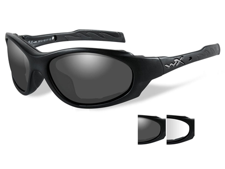 Wiley X XL-1 Advanced Sunglasses Smoke and Clear Lenses