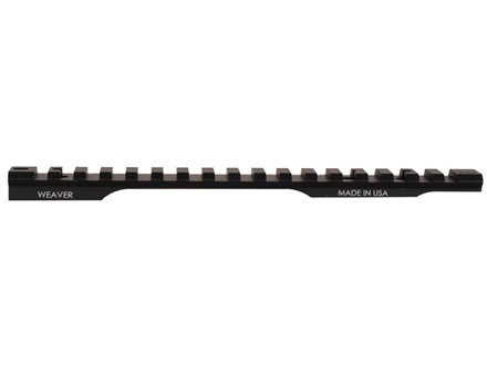 Weaver 1-Piece Extended Multi-Slot Tactical Picatinny-Style Base Remington 700 Long Action