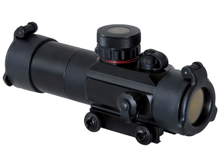 TRUGLO Tactical Red Dot Sight 30mm Tube 1x 5 MOA Circle Dot Red and Green Reticle with Integral Weaver-Style Base Matte