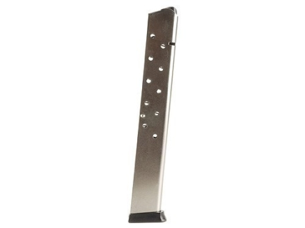 ProMag Magazine 1911 Government, Commander 45 ACP 15-Round Steel Nickel Plated