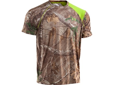 Under Armour Men's EVO Scent Control HeatGear T-Shirt Short Sleeve