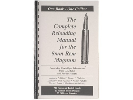 "Loadbooks USA ""8mm Remington Magnum"" Reloading Manual"