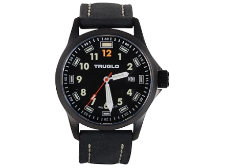 TRUGLO Denali 3-Hand Watch Black Case