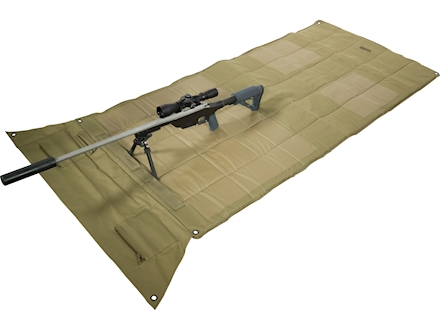 MidwayUSA Pro Series Competition Shooting Mat PVC Coated Polyester Olive Drab