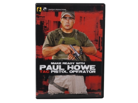 "Panteao ""Make Ready with Paul Howe: Tac Pistol Operator"" DVD"