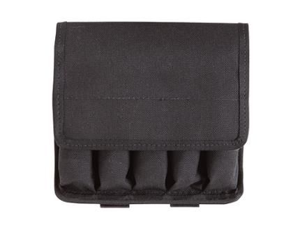 Tuff Products 5-In-Line Magazine Pouch 9mm, Glock 17 Nylon Black