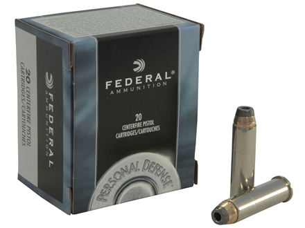 Federal Premium Personal Defense Ammunition 357 Magnum 158 Grain Jacketed Hollow Point Box of 20