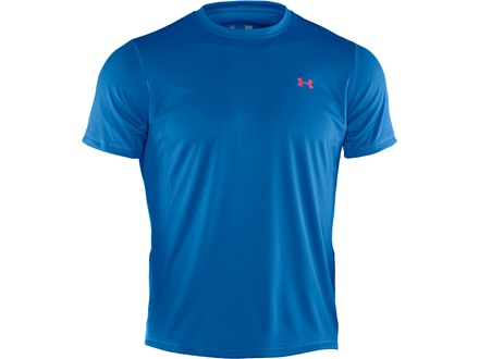 Under Armour Men's UA ArmourGuard Short Sleeve Crew Shirt Polyester St. Tropez Medium 38-40
