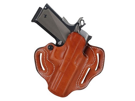 "DeSantis Speed Scabbard Belt Holster Right Hand Springfield XD Service 4"" Leather Tan"
