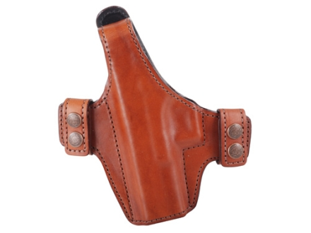 Bianchi Allusion Series 130 Classified Outside the Waistband Holster Left Hand Glock 17, 22, 31 Leather Tan