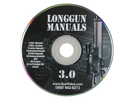 "Gun Video ""Long Gun Manuals"" CD-ROM"