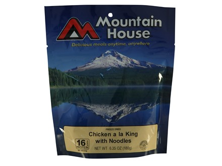 Mountain House Chicken a la King with Noodles Freeze Dried Food 3 Servings