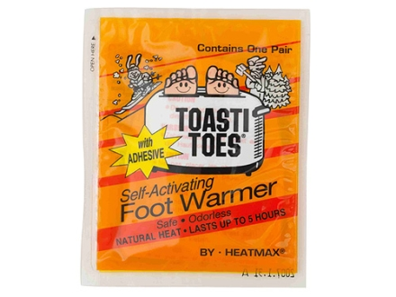 HeatMax ToastiToes Toe Warmer Pack of 4