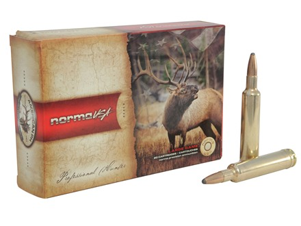 Norma USA American PH Ammunition 30-378 Weatherby Magnum 165 Grain Oryx Protected Point Box of 20